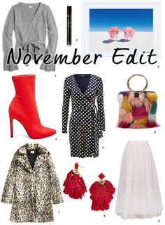 November Edit: What I'm Currently Coveting This Month