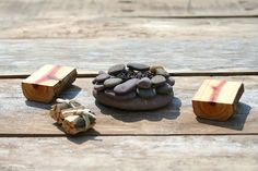 since it will be by the fire pit!!!!   Miniature Furniture / Fairy Garden campfire set