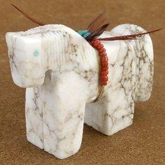 Native American Fetish - Horse Fetish - Navajo Table Fetish   Alltribes