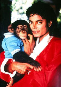 Michael Jackson & Bubbles