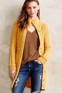 Anthropologie - Strathmore Sweater Jacket