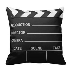 Lights Camera Action - Pillow Nice for a theater room Movie Theater Rooms, Home Theater Setup, Home Theater Speakers, Home Theater Seating, Home Theater Projectors, Cinema Room, Movie Rooms, Tv Rooms, Game Rooms