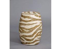 Accents Accent Brown Zebra Table