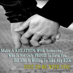Make A Relation With Someone.