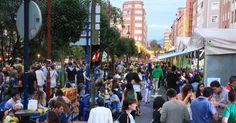 Las prefiestas llenan la zona de 'txosnas' y los bares del centro de Barakaldo