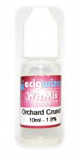 WizMix Orchard Crunch E-Juice Review / ECigWizard Vaping Lounge