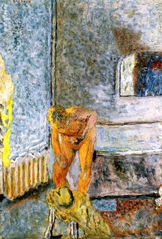 Nude in an Interior / Pierre Bonnard - circa 1935