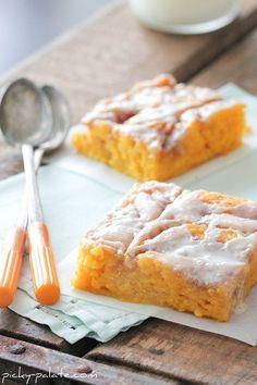 Pumpkin Vanilla Sheet Cake