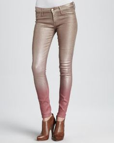 T5PFR Koral Ombre Skinny Jeans