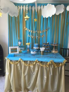 Twinkle Twinkle Little Star Baby Shower I Did For My Sister. Such A Fun  Theme