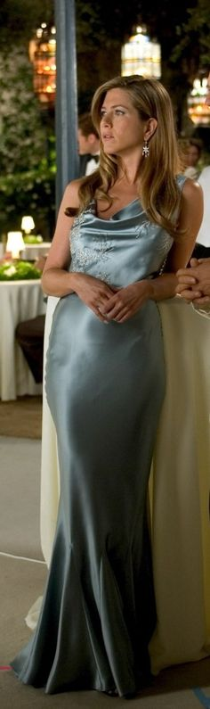 "Jennifer Aniston in ""Rumor Has It."" I am in love with this dress. And her style is to die for!"
