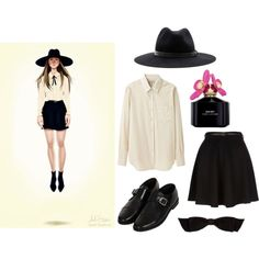 """""""Zoe Benson (AHS)"""" by dailycoffeebreaks on Polyvore"""