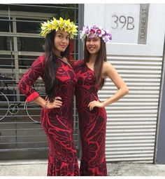 Cute Ethnic Fashion, African Fashion, Samoan Dress, Island Wear, 21st Dresses, Different Dresses, Island Girl, Hawaiian Costumes, Hawaiian Dresses