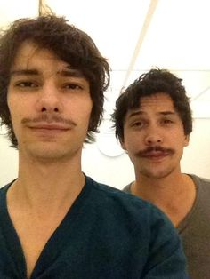 Bob Morley and Devon Bostick #The100