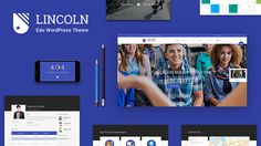Lincoln is our best WordPress theme release using material design for Education & Learning Centers which will surely amaze you with many powerful features. Though it is perfect for education industry, yet it's still flexible enough to be used for business website and creative digital agencies. To fine tune Lincoln, we have done a deep research within the industry. So we know exactly which features your Learning business should have on the website.