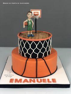 Basketball cake by Mariana Frascella