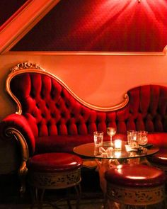 Read and discover brooklyn news and photos from New York Speakeasy Nyc, Speakeasy Decor, Bar Interior, Interior Exterior, Interior Design, Night Aesthetic, Red Aesthetic, Cabaret, Salas Lounge