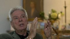 Glyn Johns, recording engineer and producer, speaks to the Associated Press at his home in London, Wednesday, Nov. 5, 2014. Johns is a walking, talking rebuttal to the maxim that if you remember the 1960s, you weren't there. He was there _ overseeing the Rolling Stones' first recording session, arranging the Beatles' rooftop concert, reeling from the first blast of Led Zeppelin _ and he remembers everything. (AP Photo/Alastair Grant)