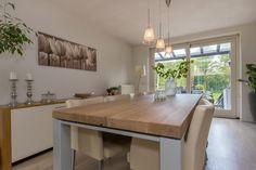 INSPIRATIE EETTAFELS I #inspiration #zwaartafelen #diningroom #dinnertable #table #wood #steel #industrial #interior #home I www.zwaartafelen.nl