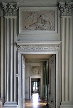 Is The Gray Paint Fad Finally Over? - laurel home | A Fabulous Enfilade at the Compiègne Castle, Picardy, France