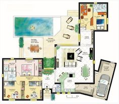 fertighaus bungalows winkelbungalows hausansicht grundriss 1 grundriss pinterest. Black Bedroom Furniture Sets. Home Design Ideas