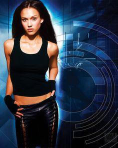 Jessica Alba in Dark Angel, 2000-2002