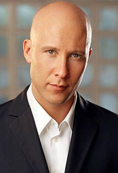 "Michael Rosenbaum-Principal Jake Luthor    Principle Jake Luthor-Bald, awesome smile, really hott!, Honey brown eyes, dimples when smiles, tall, 5'9"", skinny yet muscular, cares about the students. (30)"