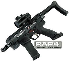 RAS CQB Paintball Kit with Marker Package for Tippmann X7 Phenom