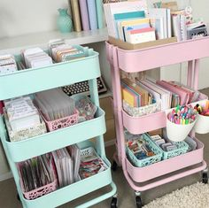 60 Smart Ways To Use IKEA Raskog Cart For Home Storage We've gathered here a lot of cool and smart ideas to use IKEA Raskog cart for different purposes around the house. Ikea Raskog, Raskog Cart, Diy Room Decor, Bedroom Decor, Home Decor, Bedroom Ideas, Room Decorations, Home Office Inspiration, Dorm Room Organization