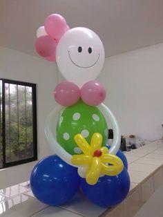 Muñequita con globos