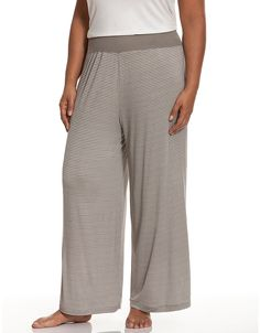 Tru to You striped sleep pant by Cacique | Lane Bryant
