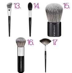 Comprendre les pinceaux à maquillage | Chictonique
