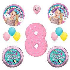 JoJo Siwa Party Supplies 8th Birthday Party Balloon Decoration Kit. #JoJo #Siwa #Party #Supplies #Birthday #Balloon #Decoration