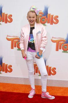 JoJo Siwa – 'Trolls' Premiere in Westwood – 1023 2016
