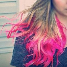 Hot Pink Hair Chalk - Hair Chalking Pastels - Temporary Hair Color - Salon Grade - 1 Large Stick