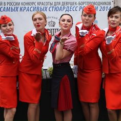 Aeroflot  (stewardess_rfgirls.com)