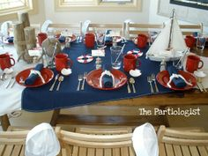 Nautical Party - Dinner