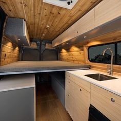 A well designed space should give you the feeling of comfort and relaxation Could you see yourself in this space!? Hope y'all have a wonderful weekend! #ModernCabin #BuildYourOwnAdventure #VanLife