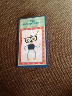 Scrapbooking card