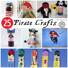 25 Pirate Crafts Kids Can Make