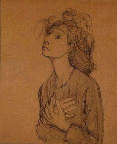 untitled drawing by Gwen John (suonko)