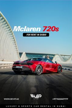 Mclaren 720s, the undisputed king of exotics !! The McLaren 720S Spider is so easy to drive and so comfortable that it's hard to think of a supercar better suited to daily driving. Mclaren 720 for rent in Dubai. Come and experience a sporty ride with with it. Pre Bookings Available. Call +971522447777 Luxury Sports Cars, Dubai, Better Suited, Supercar, Spider, Sporty, King, Building, Easy