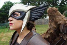 Hawkgirl helmet