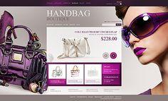 Handbag Boutique Magento Themes by Mercury
