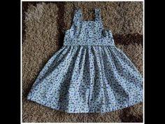 Regina Molina shared a video Cute Baby Dresses, Little Girl Dresses, Girls Dresses, Sewing Baby Clothes, Baby Sewing, Baby Dress Tutorials, Dress Anak, Baby Dress Design, Pants Pattern