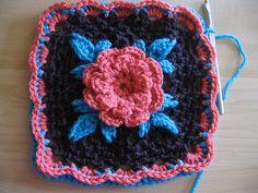 Irish Rose Tutorial Only pattern by Margaret MacInnis ~ free pattern
