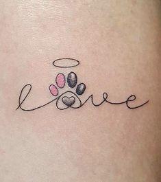 Dear dog, I would use my dog paw print for a nice memory . - Dear dog, I would use my dog paw print for a nice memory … – Wood Working Dear dog, I wou - Mini Tattoos, Dog Tattoos, Trendy Tattoos, Animal Tattoos, Body Art Tattoos, Boxer Tattoo, Tattoo Cat, Cat And Dog Tattoo, Tattoos Skull