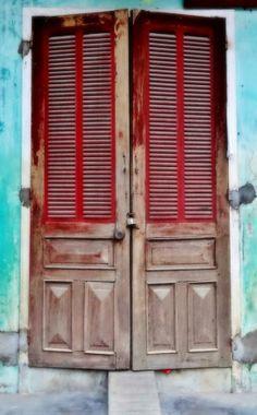 Vietnam style doors