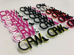 The Acrylic Badge design I developed for the CFW team, made by Artisan Model Makers.