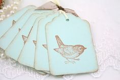 love this blue with the little birds :)